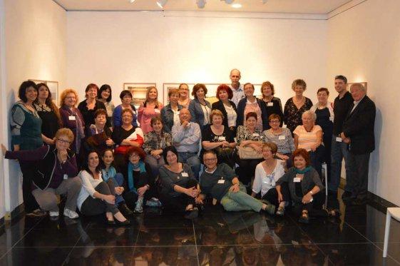 משתתפי הכנס - תמונה קבוצתית